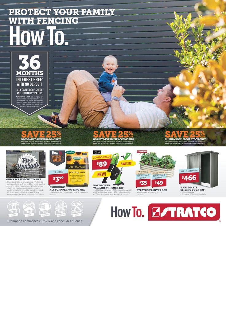 Stratco Catalogue 19 - 30 September 2017 - http://olcatalogue.com/stratco/stratco-catalogue.html