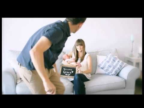 cute ideas for pregnancy announcements, baby welcome home pictures in our Television commercial