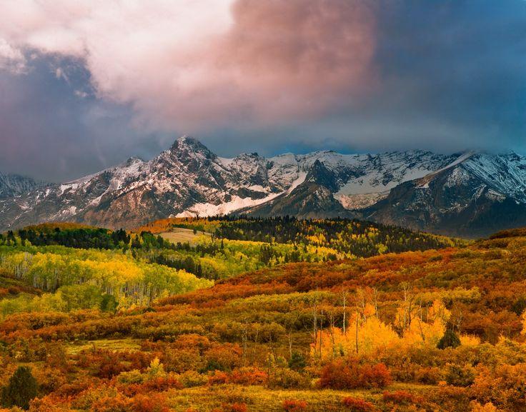 Dallas Divide - Best and most colorful autumn ever! Dallas Divide, Colorado,