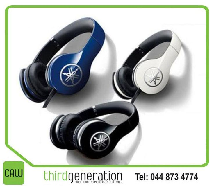 Is music your passion? Then the #Yamaha designed the HPH-PRO300 headphones for you. They don't merely deliver sound to your ears, they create the sensation of being there. Available from #ThirdGenerationCAW.