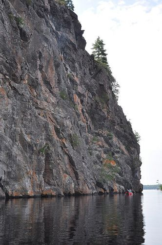 A view of Mazinaw Rock at Bon Echo Provincial Park. It's one of the most beautiful places to camp in the Ontario Parks network. Here's a bit about what we did and saw there.