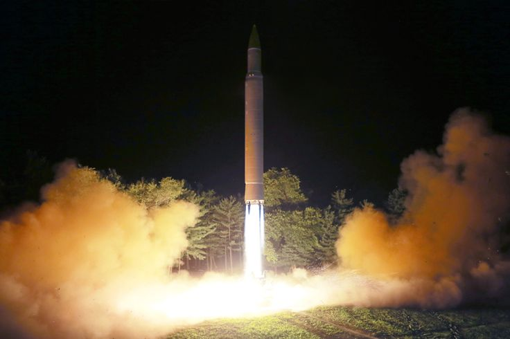 Hwasong-14 launch July 28, 2017