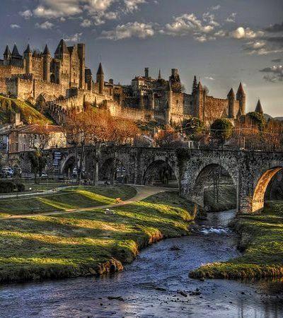 Carcassonne, Languedoc-Roussillon, France                                                                                                                                                      Plus