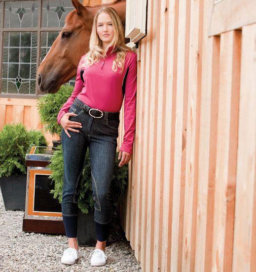 Equestrian Brands International ™ - ELATION DENIM EURO SEAT BREECH