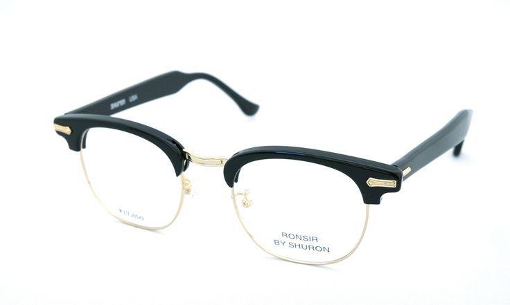 SHURON(シュロン)RONSIR REVELATION (Black/Gold) 48サイズ | メガネ | eyewear | optician | ポンメガネWEB