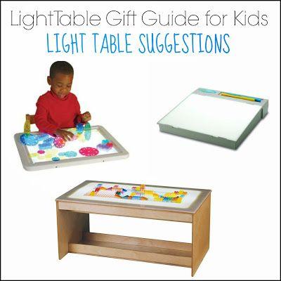 Light Table Gift Guide For Kids