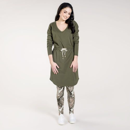 LUMO leggings, oliivi - puuteriroosa   Kevään naisten uutuudet ovat nyt saatavilla. Tutustu naisten mallistoon nosh.fi/lookbookWOMEN (This collection is available only in Finland.)