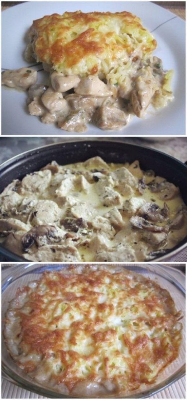 курица рецепт под шубой
