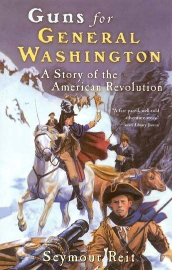 Ten Favorite Read-Aloud Books for American History -- This one tells the story of how Henry Knox was able to move thousands of pounds of cannons across miles of icy New England to protect Boston from the British troops. A feat of engineering and ingenuity!
