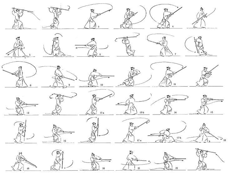 Aikido staff kata