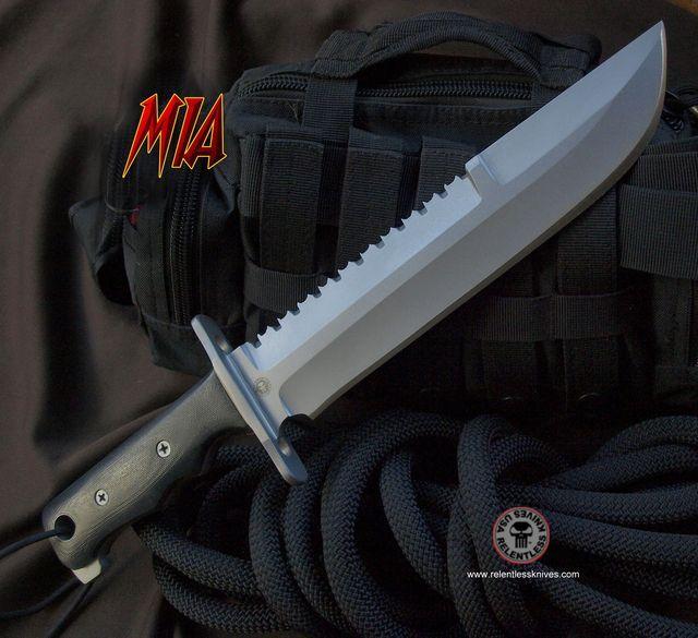 Relentless Knives M1A