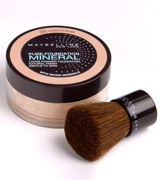 Maybelline Mineral Foundation - great for when you can't get to a Bare Minerals store