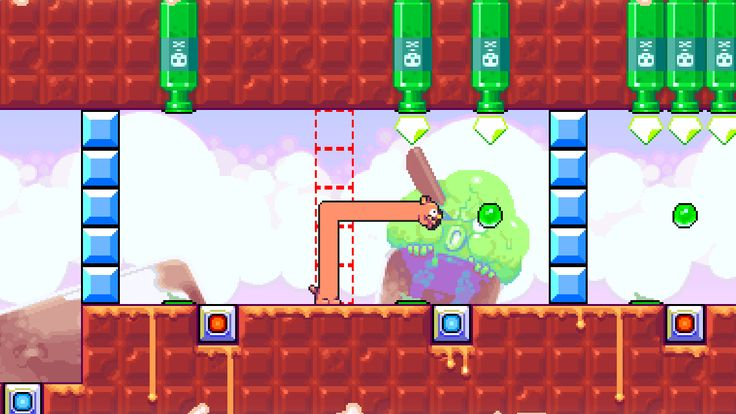 Really enjoying Silly Sausage! Check it out! #Nitrome http://www.nitrome.com/mobile/?app=sillysausagedoggydessert