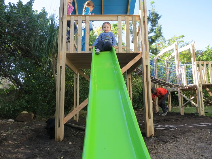 Jim of the Jungle slides are made to order and can be made in any colour.