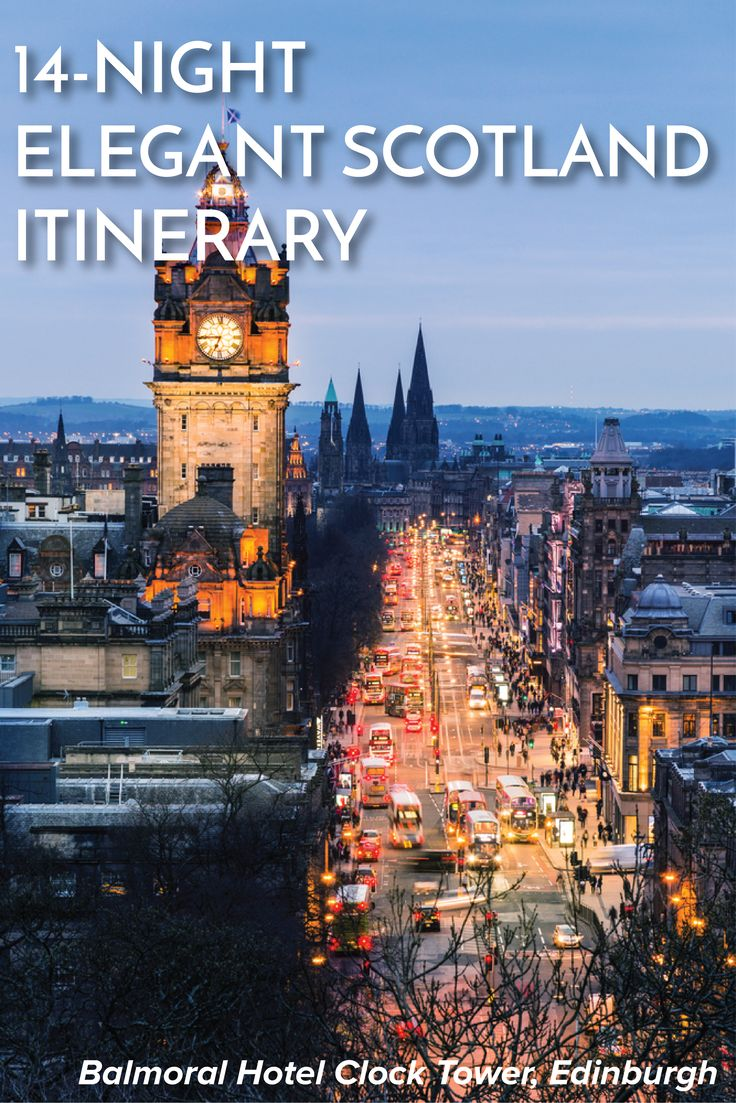 14-Night Elegant Scotland Itinerary | 15 Day Elegant Scotland Self-Drive Itinerary