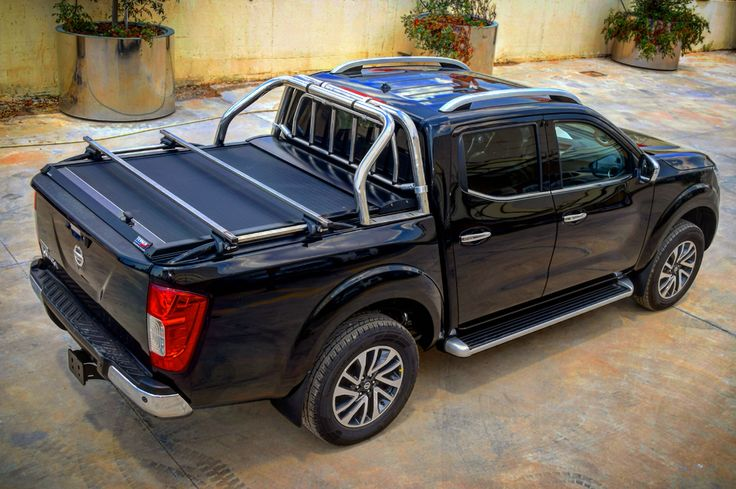 #4x4accessories1 #Nissan #NP300 #2016+ #double #cab #aluminum #roller #lid #shutter (SOT-ROLL #series) by #Tessera4x4 #accessories #painted #blackmatt #sport #attitude #special #mold #nodrill #hugs #100% #side #railpart #effectiveness #no #negotiable. Check all the range only at http://www.accessories-4x4.com/Product/412/Instance/3441/en/