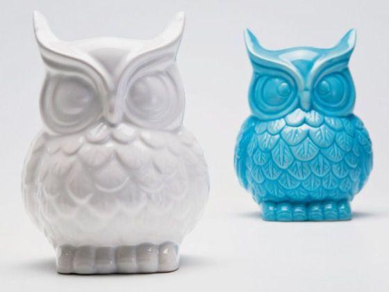 Wazon Owl Różne Kolory Kare Design 33167