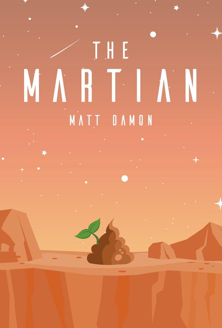 The Martian (2015) ~ Minimal Movie Poster by Amine Belaiba ~ Oscars 2016 Nominees #amusementphile