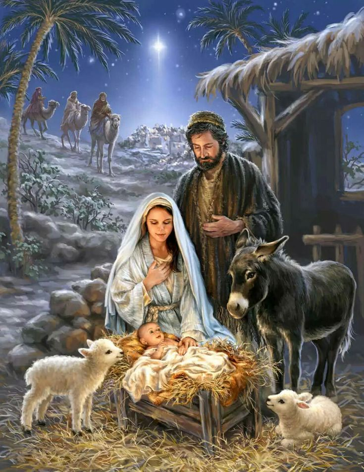 This is why we have Christmas.. For a baby was born to be King of all Kings. Our Savior..