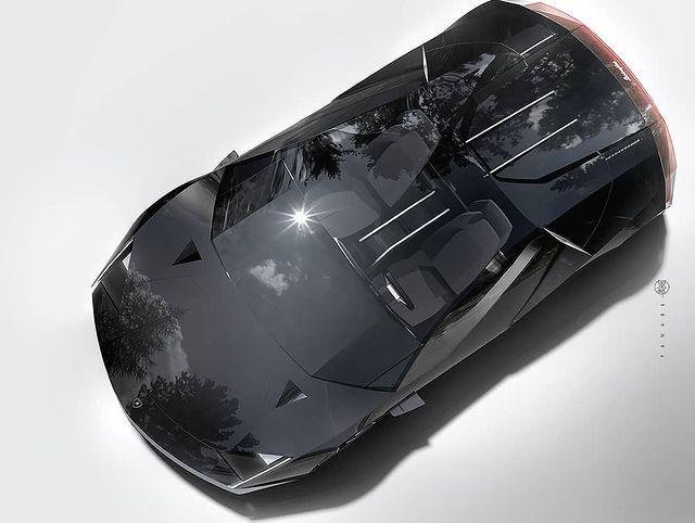 田名部 T A N A B E Auf Instagram Lamborghini Tornado 3d Concept Model For Experimental Studies Lamborghini Sportsca In 2021 Concept Cars Sports Car Lamborghini