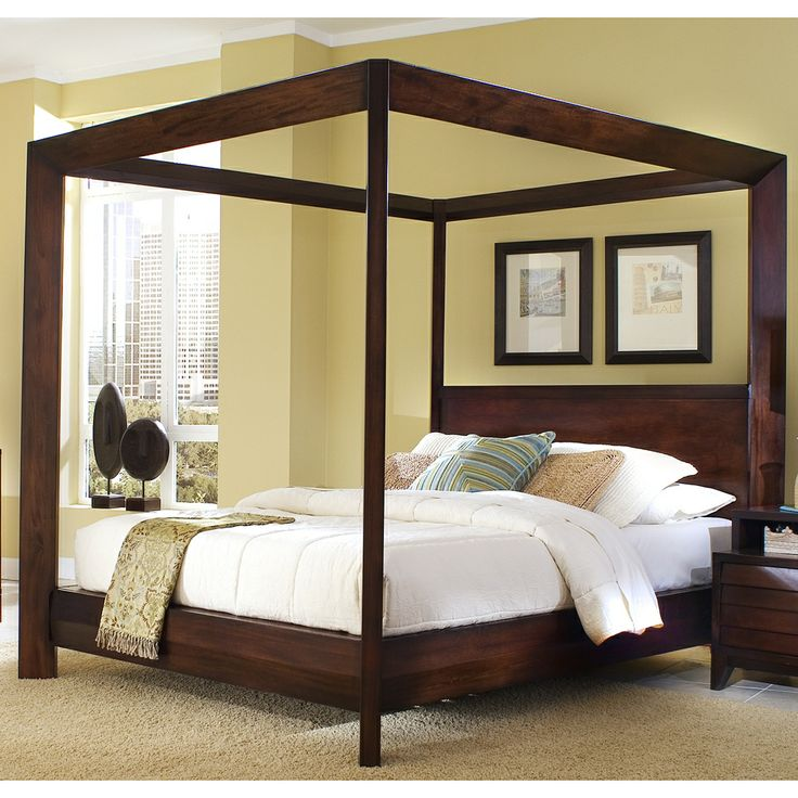 Four Poster Bed Canopy 25+ best wood canopy bed ideas on pinterest | canopy for bed