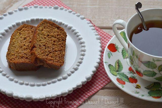 Fromage ou Dessert ? ... DESSERT !!!: Cake au miel, à l'orange et au rhum, délicatement ...