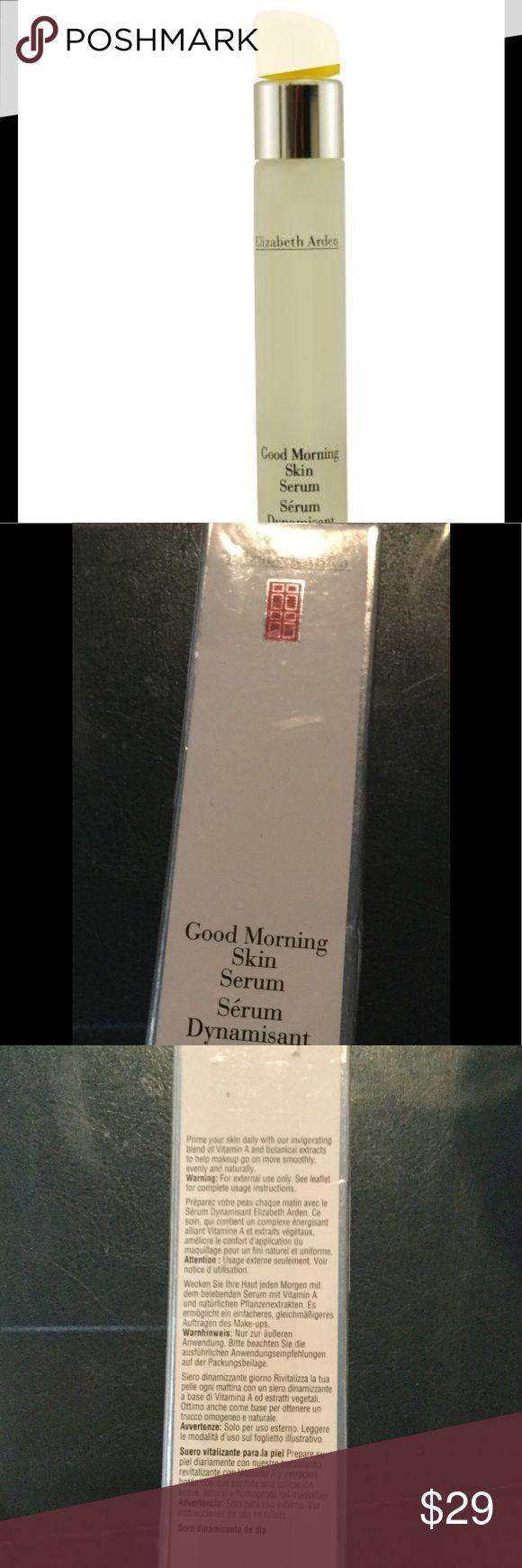 Elizabeth Arden Good Morning Skin Serum, 0.5-Oz Brand New - A daily morning primer that helps skin look and feel instantly smoother. Elizabeth Arden Makeup Face Primer