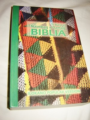 Ilokano Bible / Ti Baro A Naimbag A Damag Biblia / New Revised Ilokano Popular Version Bible