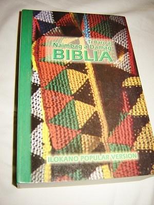 Ilokano Bible / Ti Baro A Naimbag A Damag Biblia / New Revised Ilokano Popular Version Bible