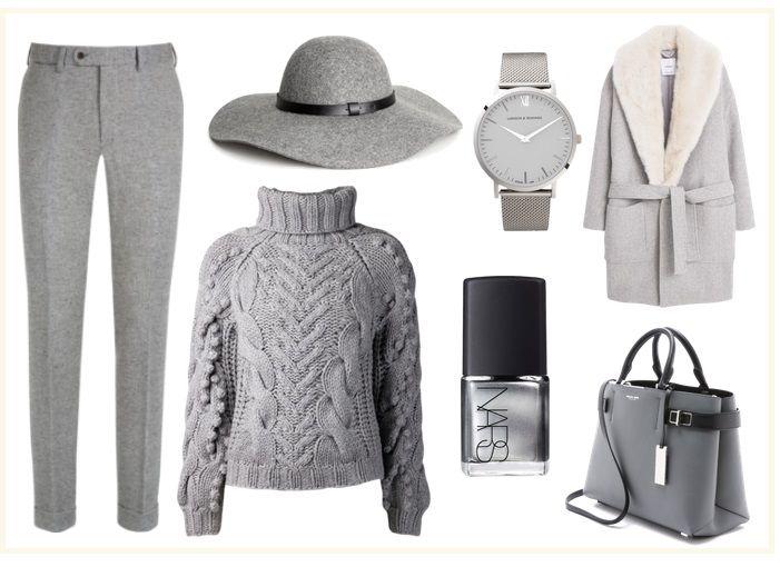 Outfit Grau
