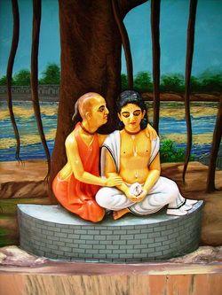 Sri Isvara Puri was the spirtual master of Sri Chaitanya Mahaprabhu.