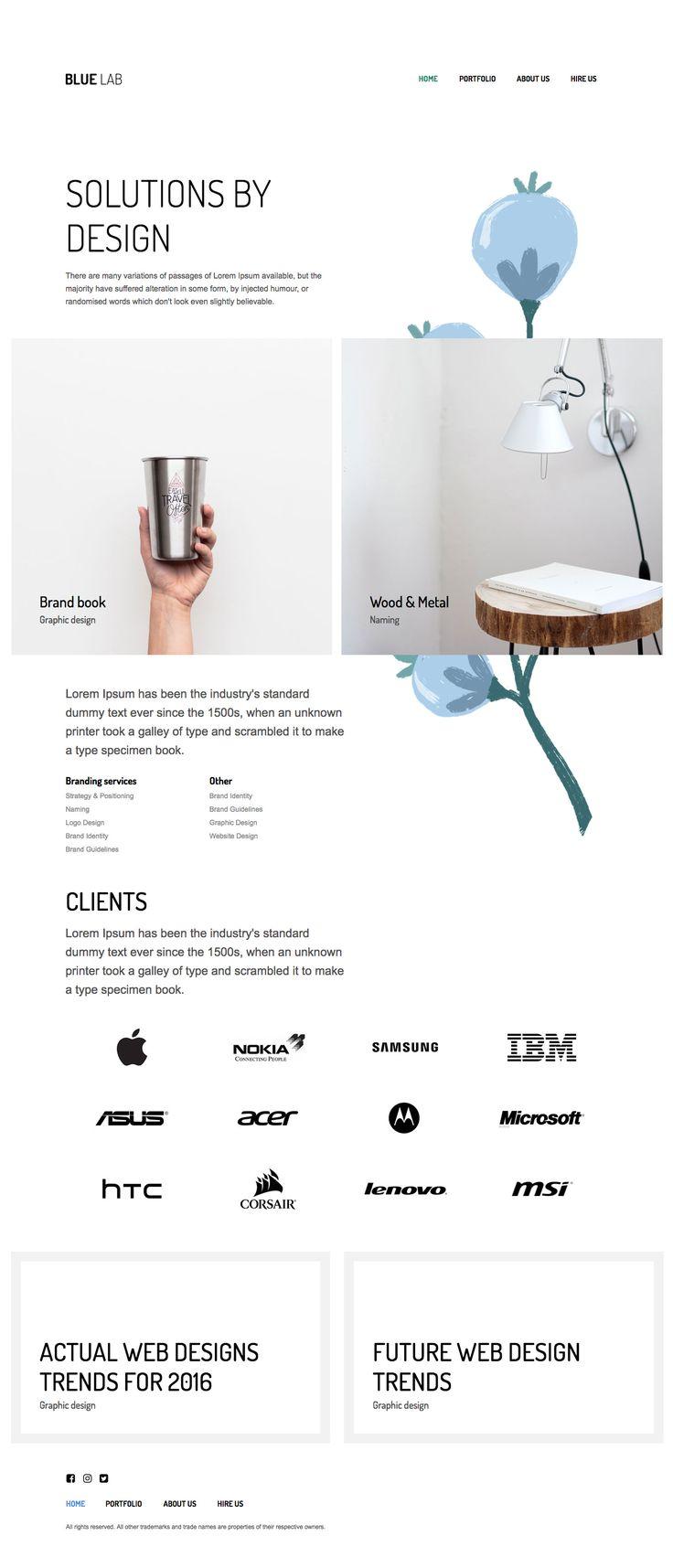 Adobe Muse Agency Template #muse #template #theme #creative #portfolio #agency #web #design
