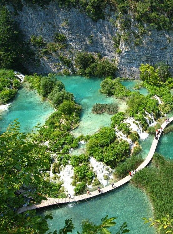 Plitvices Lake, Croatia.
