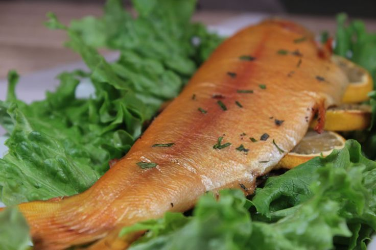 Smoked Trout With Lemon And Herbs Recipe Brine Recipe