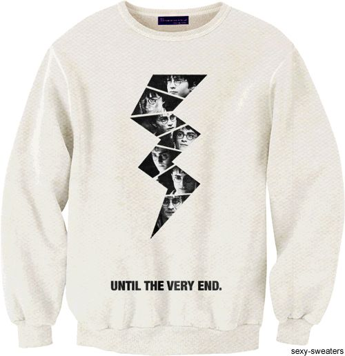 yeah I need this Harry Potter sweatshirt.
