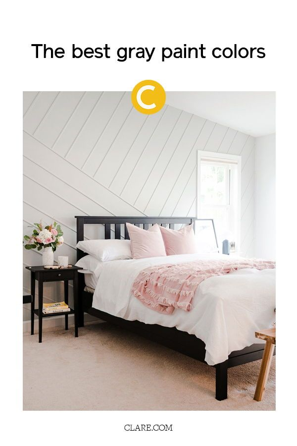 5 Shades Of Gray Paint That Will Totally Transform Your Bedroom Bedroom Wall Colors Gray Bedroom Walls Bedroom Wall