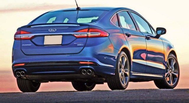 2020 Ford Fusion Rear Ford Fusion Fusion Sport Ford