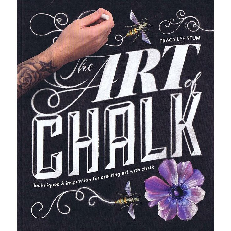 The Art of Chalk: Techniques and Inspiration for Creating Art with Chalk bog fra…