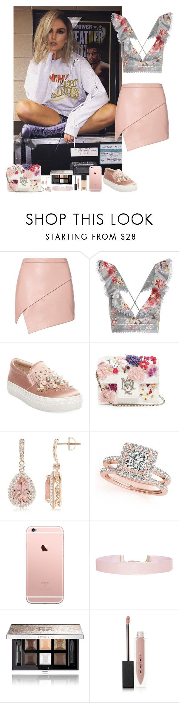 """""""Perrie Edwards, LM #48"""" by ambere3love34 ❤ liked on Polyvore featuring Michelle Mason, Zimmermann, Steve Madden, Alexander McQueen, Allurez, Humble Chic, Givenchy, Burberry and MAC Cosmetics"""