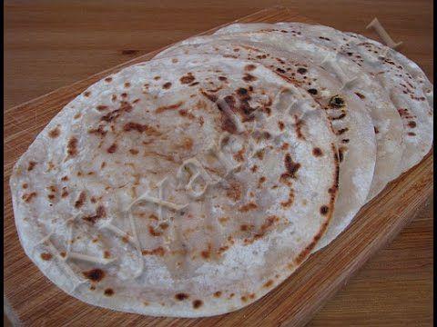 Мули паратха (индийские лепешки с дайконом или редькой)._Muli paratha (Indian flat bread with daikon radish or)