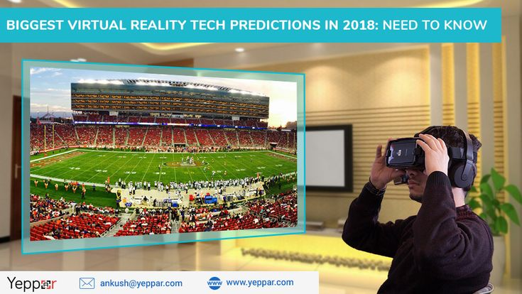 Let's checkout the most significant virtual reality Tech predictions are expected to release in 2018 gathered by the most eminent virtual reality development company  in India Yeppar.