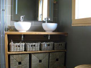 visuel meuble salle de bain fait maison projets essayer pinterest salle de bains sdb et. Black Bedroom Furniture Sets. Home Design Ideas