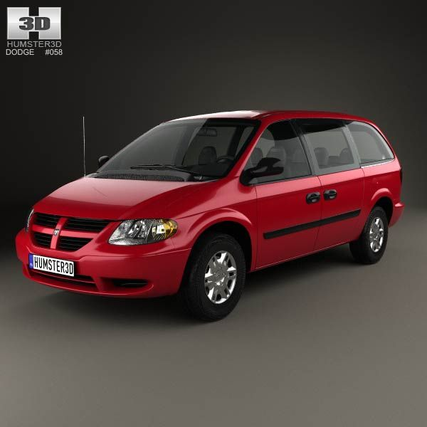 Dodge Grand Caravan 2004 3d model from humster3d.com. Price: $75