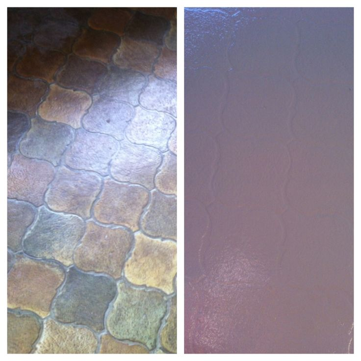 12 best images about linoleum makeover on pinterest for Paint old linoleum floor
