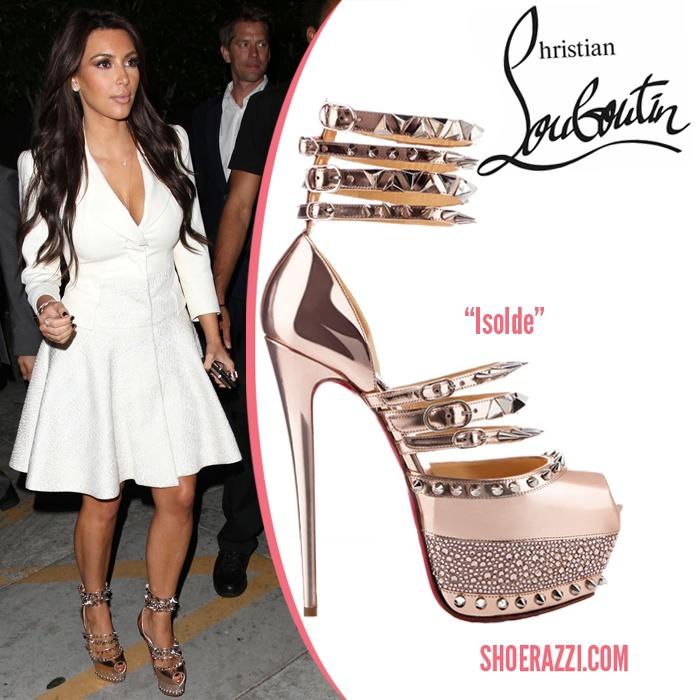 Kim Kardashian In Christian Louboutin Shoes Amp More Shoes