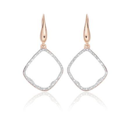 Riva Diamond Hoop Earrings | Monica Vinader