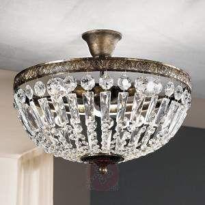 Antikt utseende ANDARA taklampe Ø 40 cm - Taklamper - Innebelysning