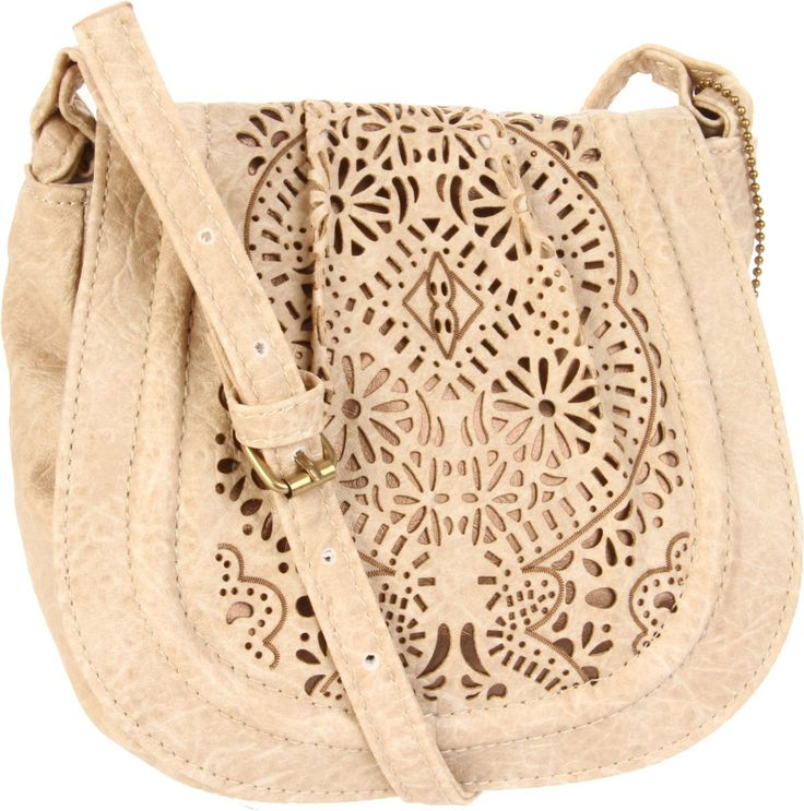 Cute over the shoulder purse. Neutral colors go with every outfit.