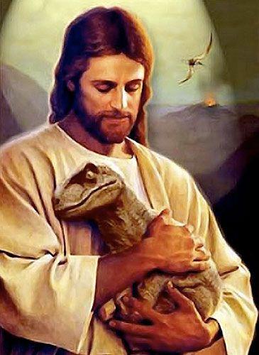 ... Toría evolucionista (Darwin) contraria la teoría creacionista (religión). ... Así que eres cristiano, ¿Eh? Y los Dinosaurios se extinguieron porque a Noé no le cogían en el arca ¿No?.