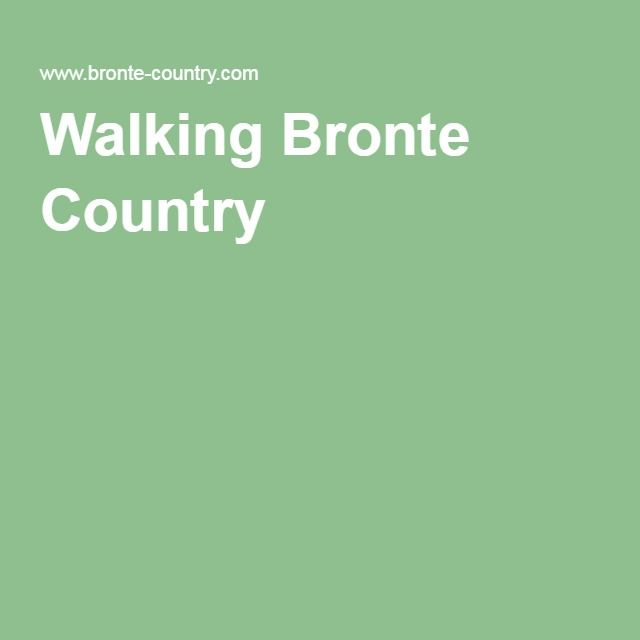 Walking Bronte Country